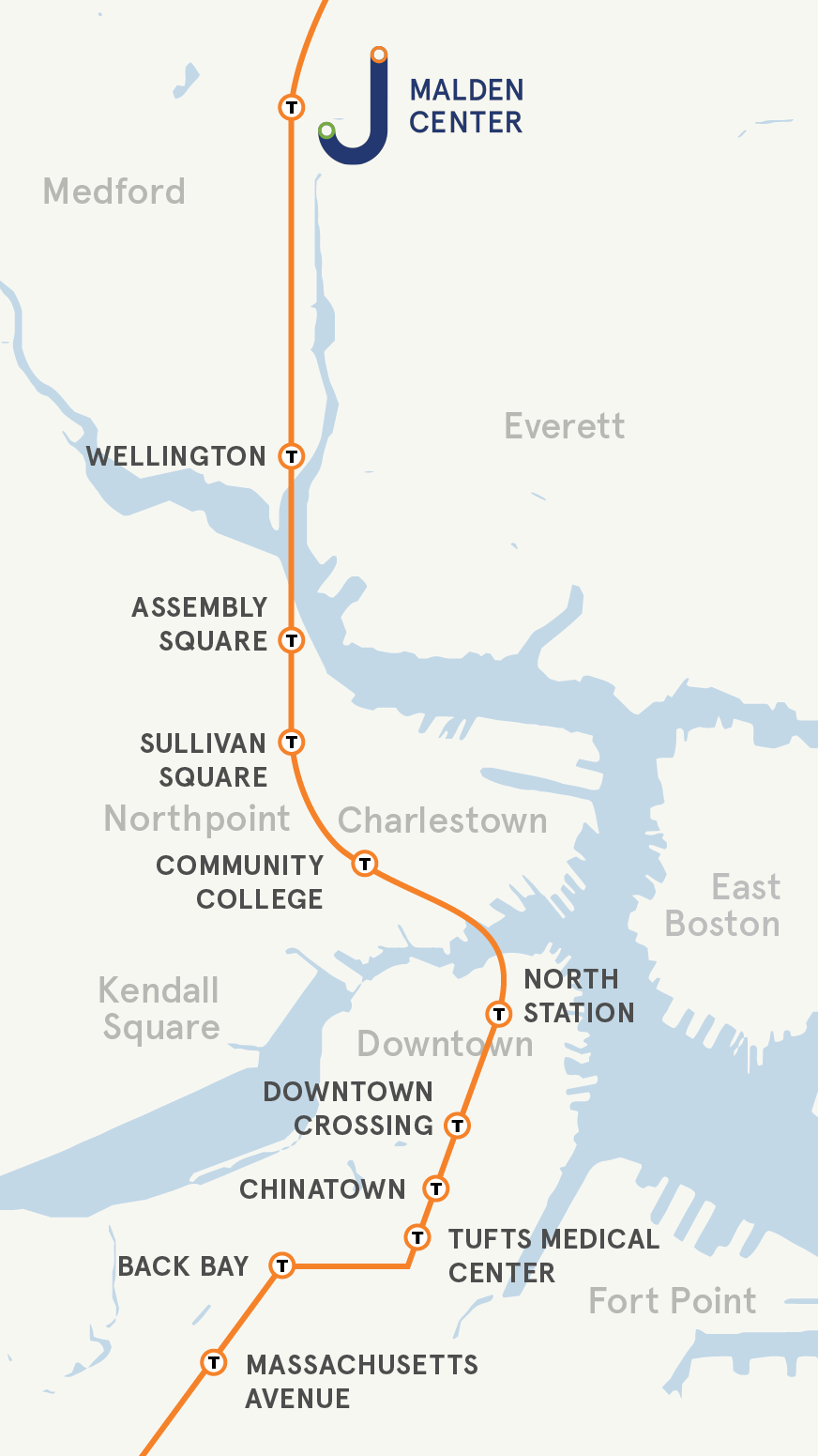 Visual Map of Malden